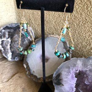 Lyonsden custom genuine gemstone earrings.